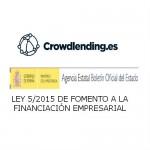 Ha entrado en vigor la Ley del Crowdlending