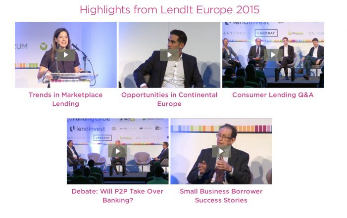 Lendit-europe. Highlights