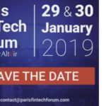 Evento: Forum Paris Fintech 2019, el 29 y 30 de enero