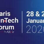 5º París Fintech Fórum 2020, el 28 y 29 de enero de 2020