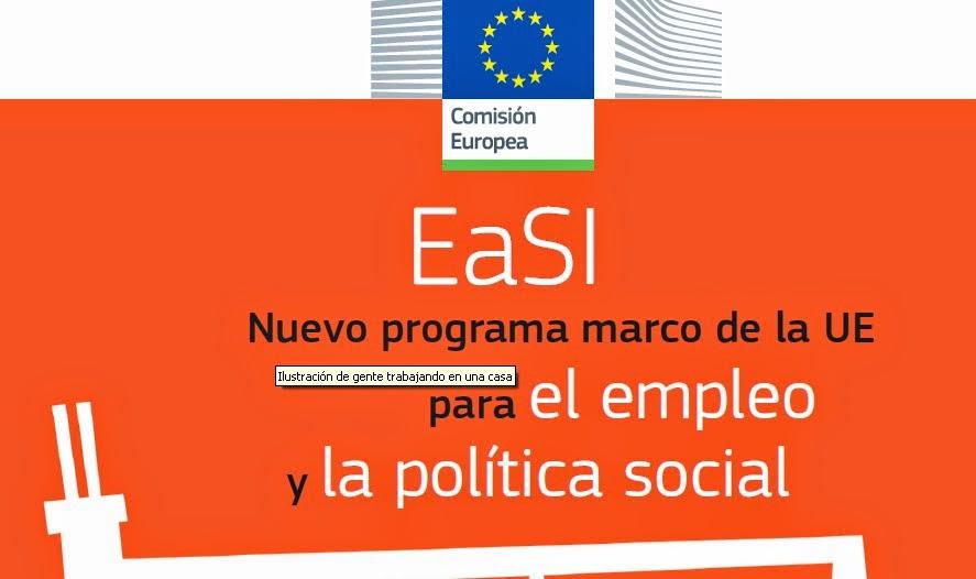 Programa Europeo para el Empleo y la Innovación Social (EaSI)